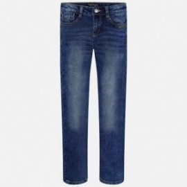 Mayoral 7505-30 Spodnie denim kolor Ciemny