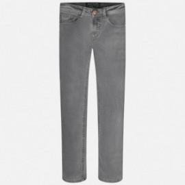 Mayoral 7519-32 Spodnie długie jeans kolor Aluminium