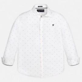 Mayoral 7131-42 Koszula d/r fantazja kolor Biały