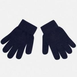 Mayoral 10255-50 Rękawiczki gładkie kolor Granatowy