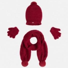 Mayoral 10293-73 Komplet czapka szalik rękawiczki kolor Ow.granatu