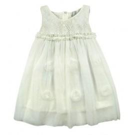 Sukienka BestaPlus DS12 śmietanka