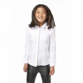 Losan 724-3790AB-001 bluzka elegancka z kołnierzykiem kolor biały