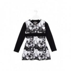 Losan 724-7000AB-063 sukienka kolor czarny