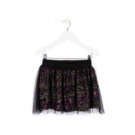 Losan 724-7017AB-063 spódnica tiul kolor czarny