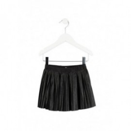 Losan 726-7023AD-063 spódnica plisowana kolor czarny