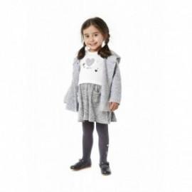 Losan 728-7008AD-002 sukienka dzianina kolor krem/szary