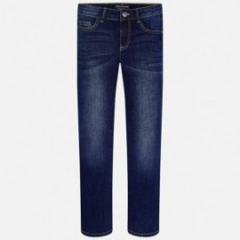 Mayoral 50-33 Spodnie jeans regular fit kolor Ciemny
