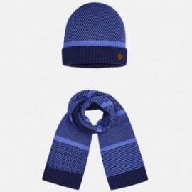 Mayoral 10220-28 Kompl. czapka szalik kolor Lawendowy