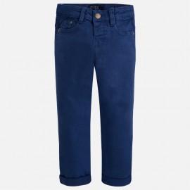 Mayoral 4539-66 Spodnie długie jeans kolor kolor śliwka