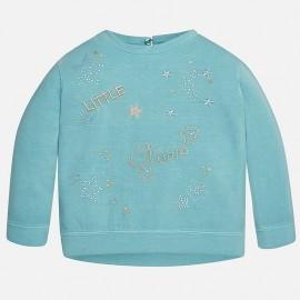 Mayoral 4421-78 bluza dzianina drapana kolor Ocean