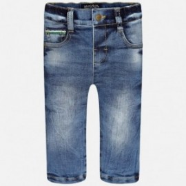 Mayoral 2555-5 Spodnie jeans 5 kieszeni na podszewce kolor Jeans