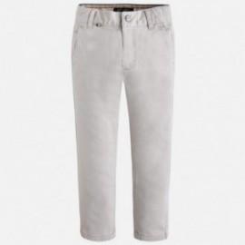 Mayoral 4507-64 Spodnie klasyczne nadruk kolor Gips