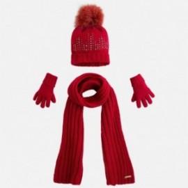Mayoral 10292-62 Komplet czapka szalik rękawic kolor Ow.granatu