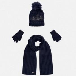 Mayoral 10292-66 Komplet czapka szalik rękawic kolor Zaćmienie