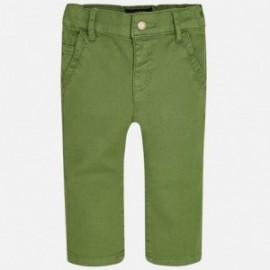 Mayoral 2571-46 Spodnie slim fit kolor Zieleń