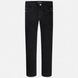 Mayoral 7527-49 Spodnie jeans super slim kolor Czarny