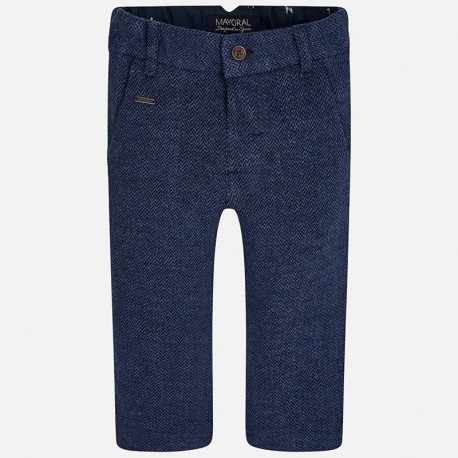 Mayoral 2549-17 Spodnie dzianina eleganckie kolor Niebieski ciemny