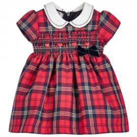 Dr.Kid DK399/O17 sukienka na podszewce kolor czerwony