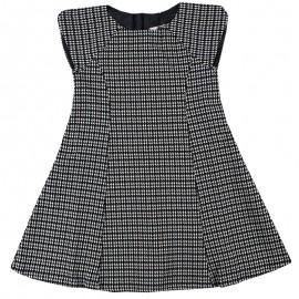 Dr.Kid DK478/O17 sukienka pepitko kolor czarny