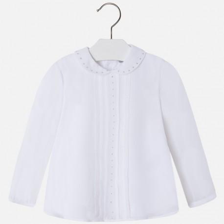 Mayoral 4123-49 Bluzka strass kolor Biały