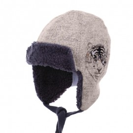 Pupil czapka Tiger 11 kolor beżowy