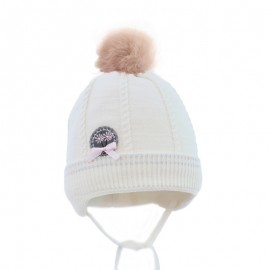 Pupil czapka Tonia 17 kolor krem