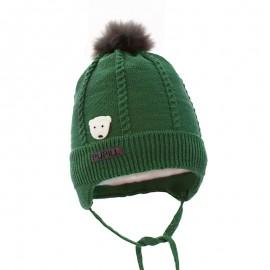 Pupil czapka felipe 16 kolor zielony