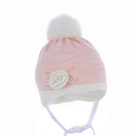 Pupil czapka NELLA 30 kolor różowy