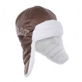 Pupil czapka MIGUEL 44 kolor jasny brąz