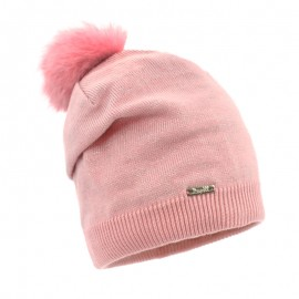 Pupil czapka MIIA 51 kolor róż