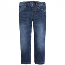 Mayoral 46-69 Spodnie jeans regular fit kolor Ciemny