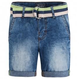 Mayoral 3226-49 Bermudy jeans z paskiem 1 kolor Basic