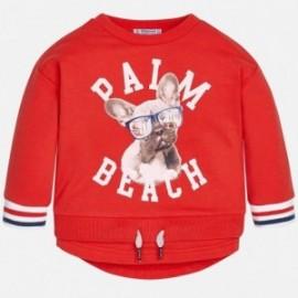 Mayoral 1400-45 Bluza chłopięca kolor czerwony