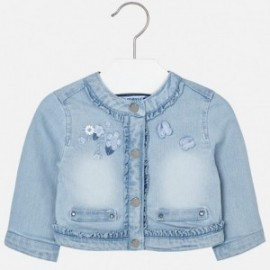 Mayoral 1424-51 Kurtka dziewczęca kolor Jasny Jeans