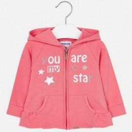Mayoral 1432-24 Bluza dziewczęca kolor różowy