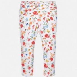 Mayoral 1528-59 Spodnie dziewczęce długie kolor Koralowy