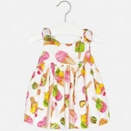 Mayoral 1970-64 Sukienka dziewczęca lody kolor Pistacjowy