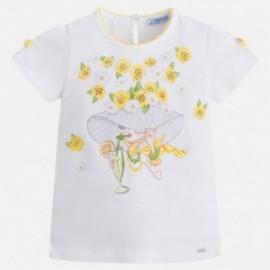 Mayoral 3010-55 Koszulka dziewczęca kolor żółty