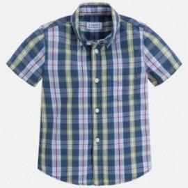 Mayoral 3154-60 Koszula chłopięca krata kolor Zielony