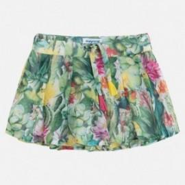 Mayoral 3912-8 Spódnico spodnie z szyfonu kolor Kiwi