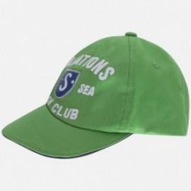 Mayoral 10377-76 Czapka chłopięca haft kolor zielony