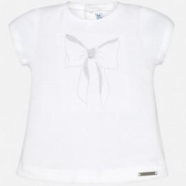 Mayoral 105-10 Koszulka dziewczęca kolor Biały