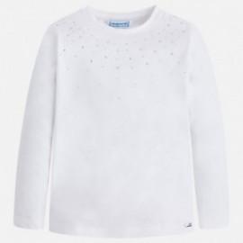 Mayoral 175-55 Koszulka dla dziewczynki kolor Biały