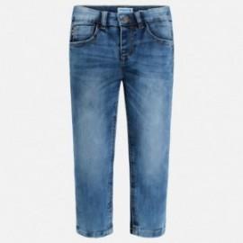 Mayoral 515-28 Spodnie jeans slim fit basic kolor niebieski