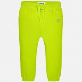 Mayoral 711-10 Długie spodnie basic kolor Brokuł