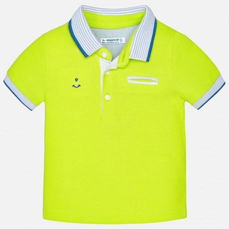 Mayoral 1138-91 Koszulka polo krótki rękaw kolor Brokuł