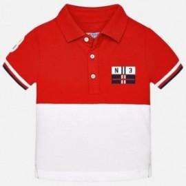Mayoral 1140-79 Koszulka polo krótki rękaw kolor Wiśniowy