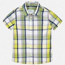 Mayoral 1162-49 Koszula chłopięca kolor Limonka