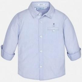 Mayoral 1170-55 Koszula długi rękaw wizytowa kolor Błękitny
